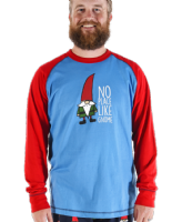 Men's No Place Like Gnome Long Sleeve PJ T-shirt - Lazy One® | Men's  Pyjamas